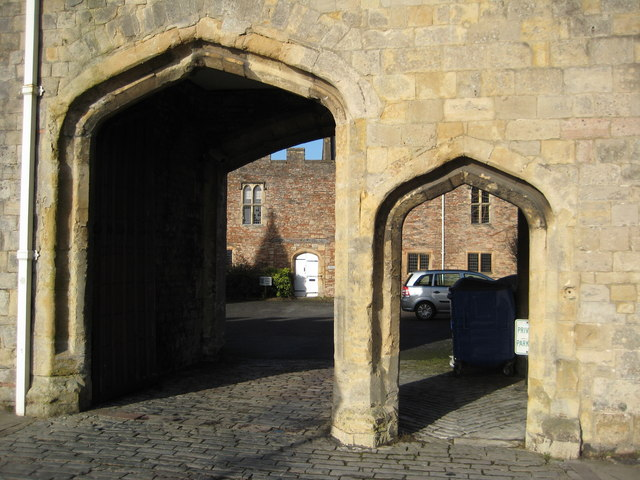 Entrance to the Old Deanery, Wells
