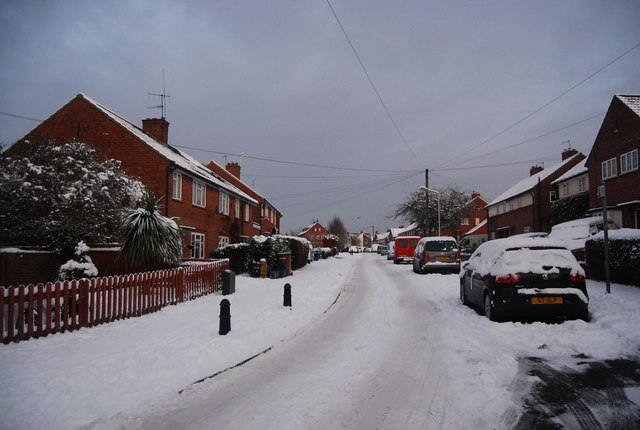 Snow, Woolley Rd