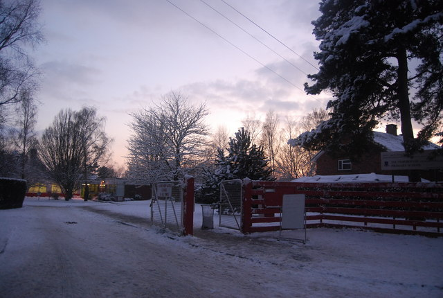 Closed due to snow, Southborough Primary School
