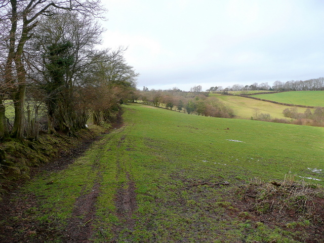 View west from Brown's Lane