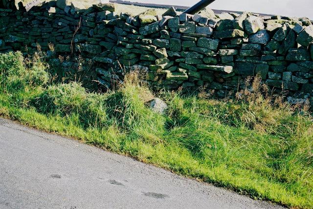 Boundary marker on Gisburn Old Road