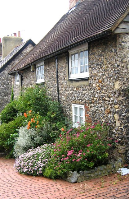 Cottage garden in Old Portslade
