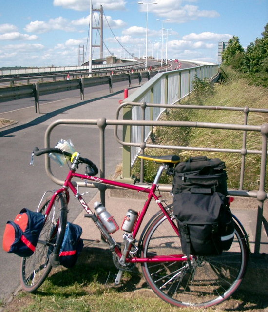 Cycling The Humber Bridge