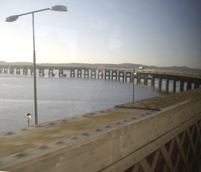 Access to Tay Rail Bridge