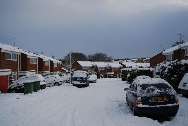 Snow blankets St Michael's Rd