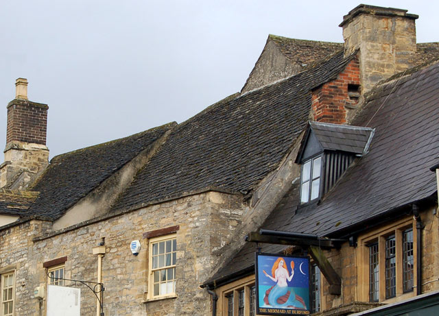 Roofs in Burford