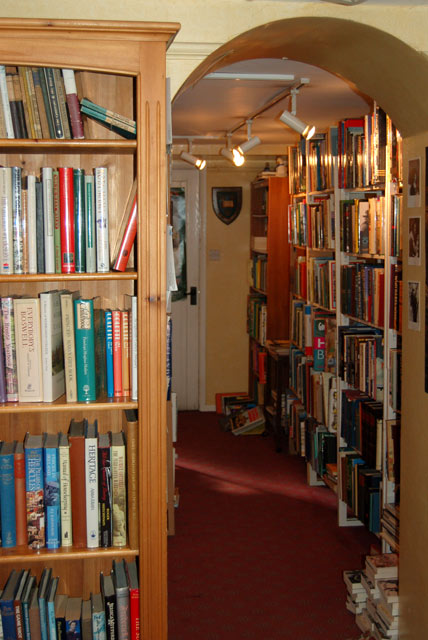 Bookshop interior, Burford