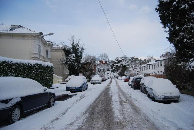 Ice & snow, Park Rd