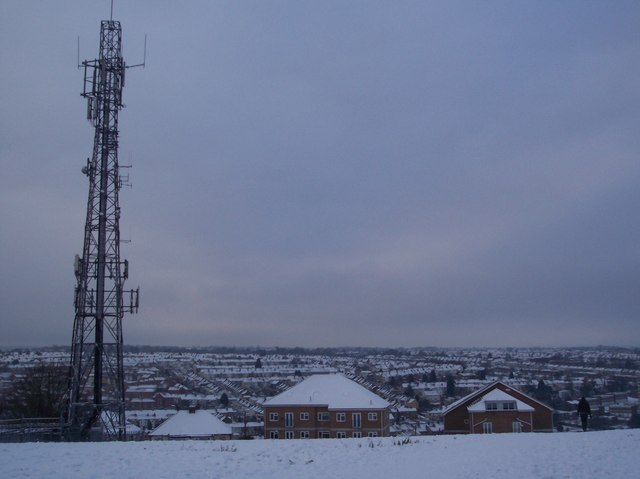 View from the Great Lines, near the Radio Mast