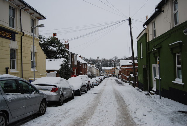 Snow, Stanley Rd