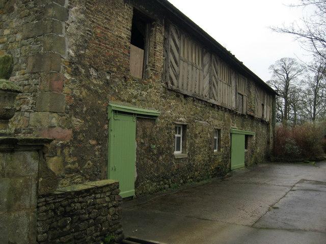 Outbuilding at Bashall Hall
