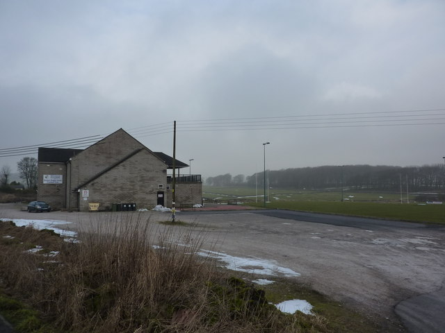 Sunnyfields; home of Buxton Rugby Union Football Club