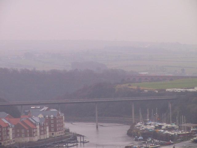 High Level bridge over the River Esk