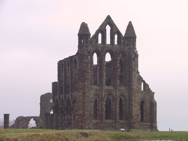 St Hilda's Abbey, east face