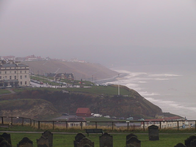 Looking west across Whitby