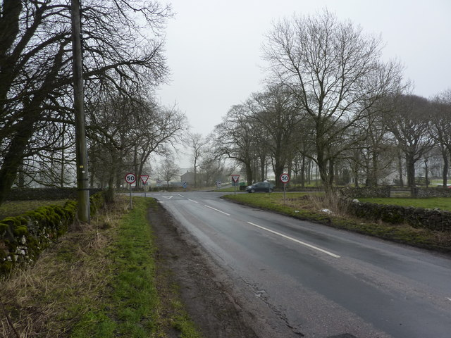 Approaching the A515