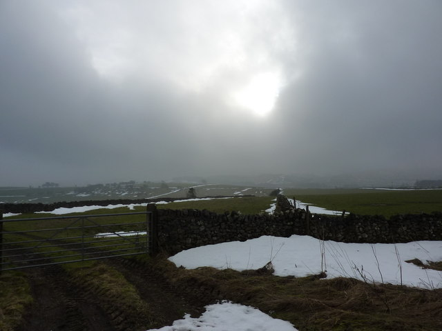 Weak winter sunshine