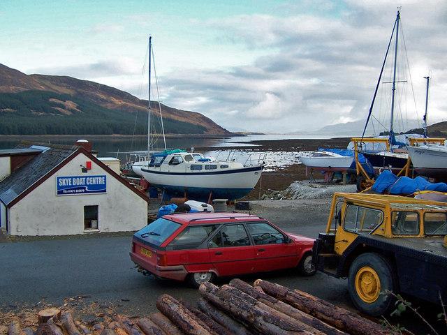 The Skye Boat Centre, Strollamus