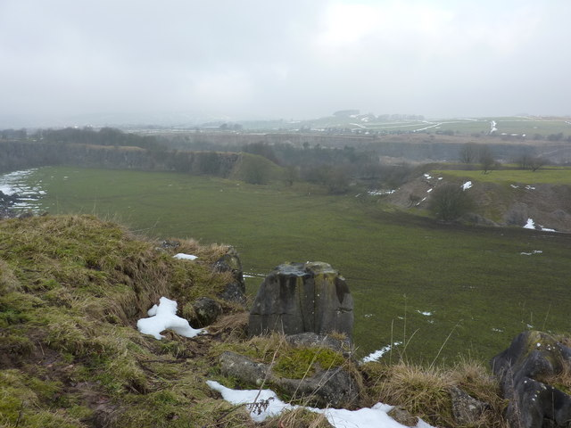 The Staden end of the quarry
