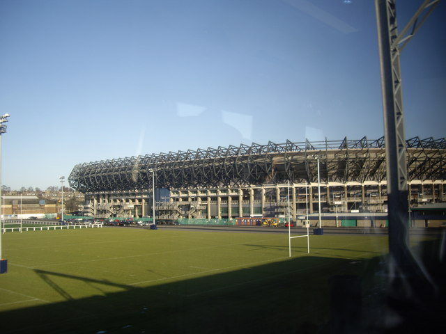 Murrayfield training pitch