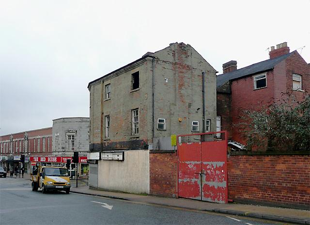 Dereliction in Cleveland Street, Wolverhampton