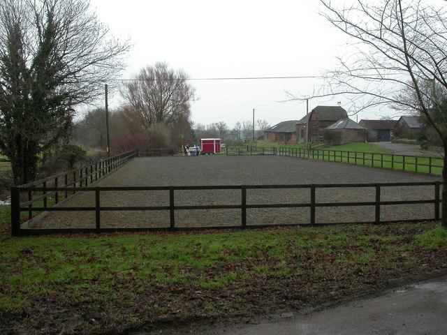 Knighton, horse training ground