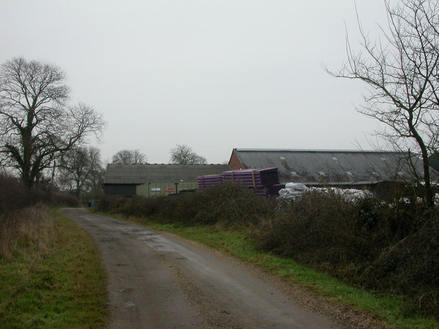 Knighton, farm buildings