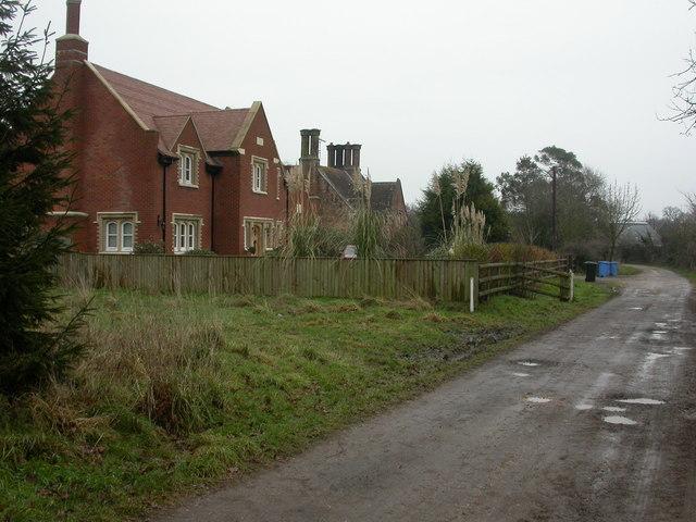 Knighton, cottages