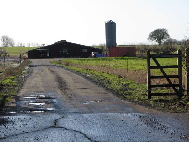 Poultry farm off Bank Road