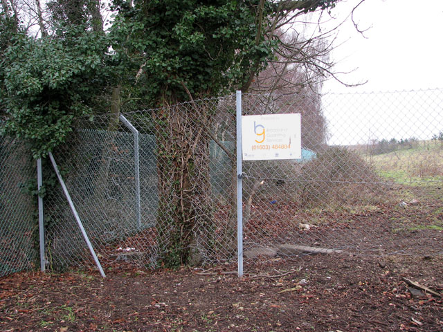 A 'door' in the chainlink fence