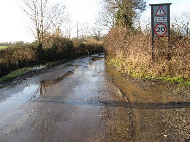 Speed restriction on Stream Lane