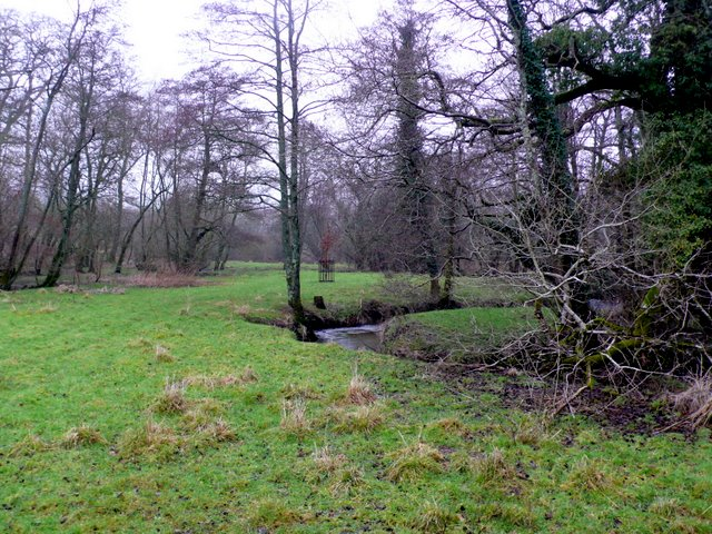 Stream at Lower Wraxall
