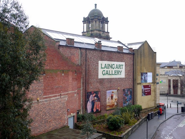 Laing Art Gallery from John Dobson Street