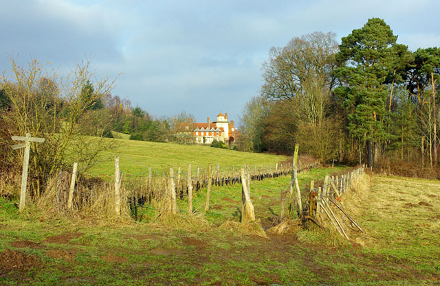 View towards Standen