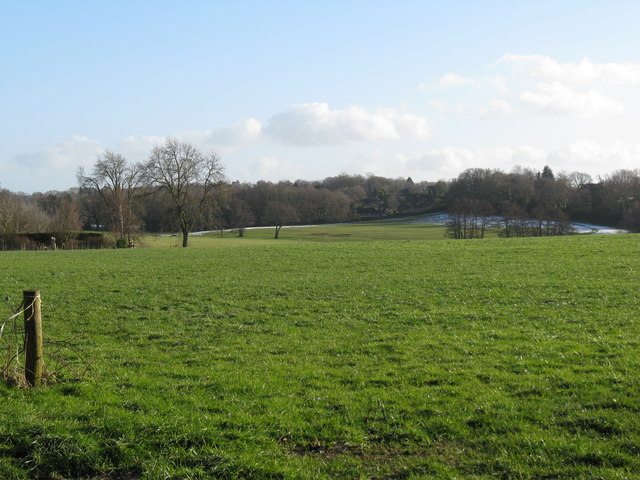 View across square to West Chiltington