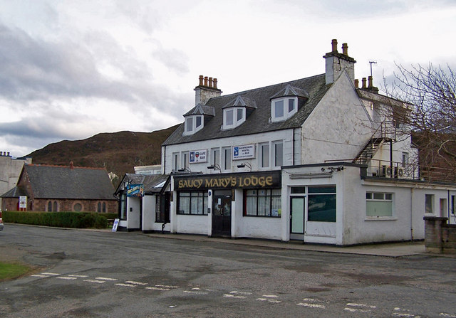 Saucy Mary's Lodge, Kyleakin