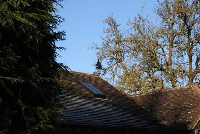 Weather vane along Brightwell Street