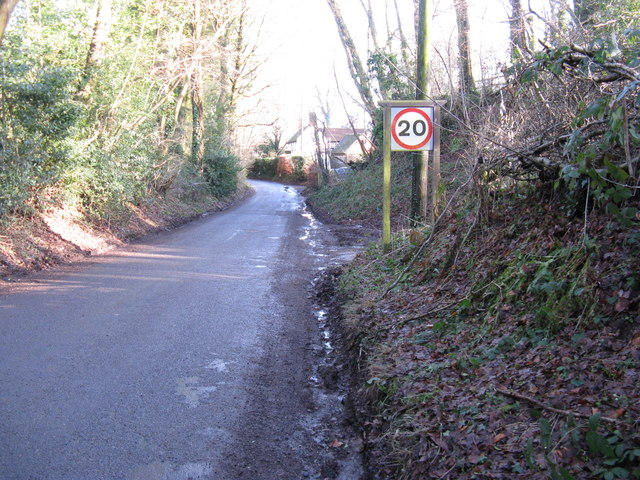Speed restriction at Nutbourne Common