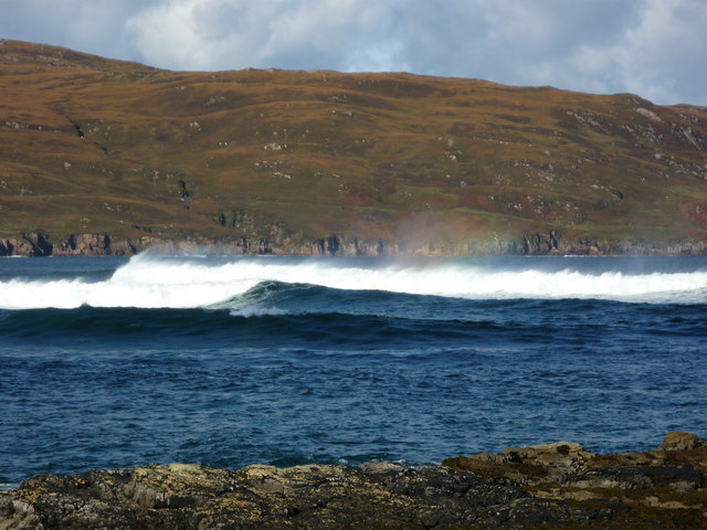 Tide turning Kyle of Durness