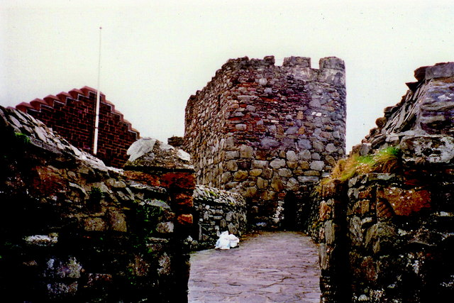 Peel - Exterior portion of castle at north end
