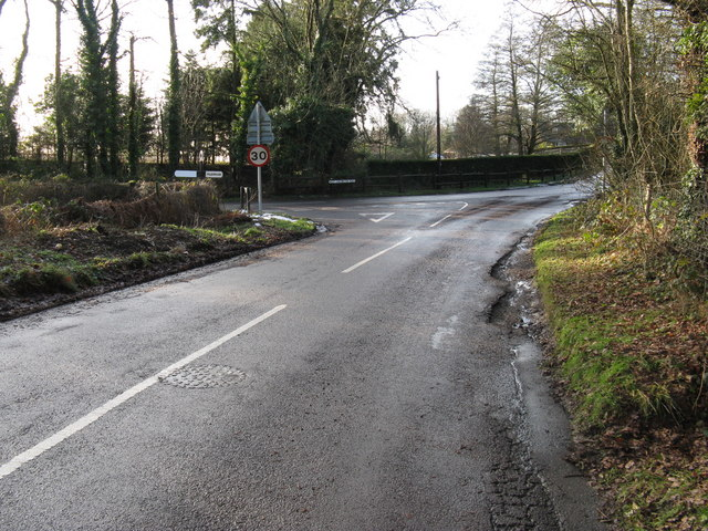 Nutbourne Road junction with West Chilington Road