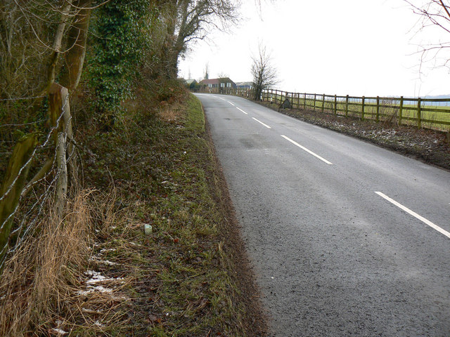 Yorkley Lane, near Badhamsfield, south of Yorkley