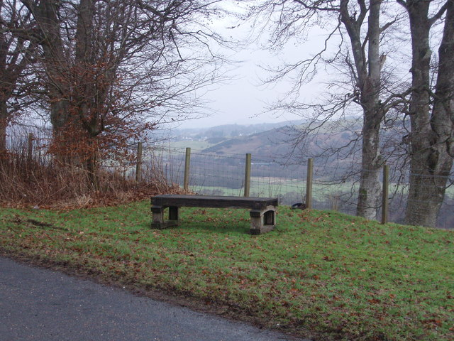 The Millennium Seat, New Galloway
