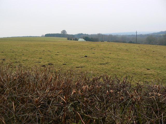 Farmland west of Yorkley Lane, near Oldcroft