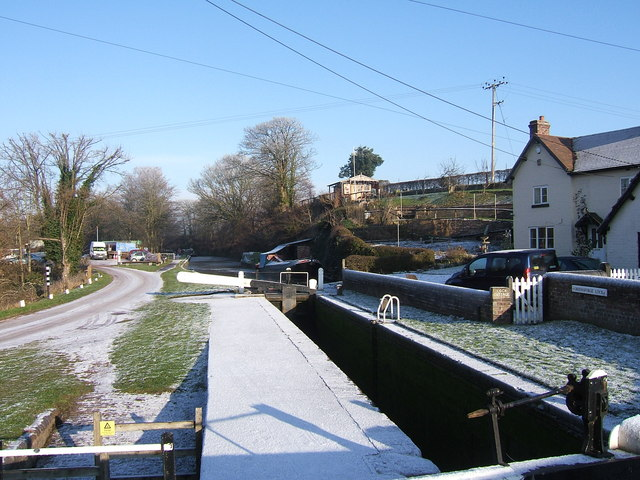 Greensforge Lock, Staffordshire & Worcestershire Canal