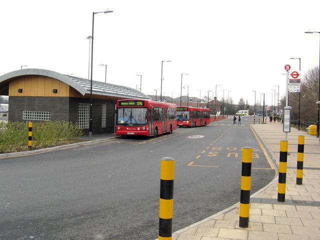 Beckton bus station