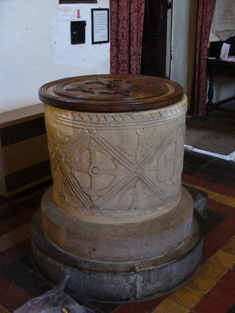 Hambleden Church Font