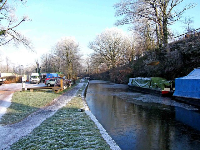 Staffordshire & Worcestershire Canal north of Greensforge Lock