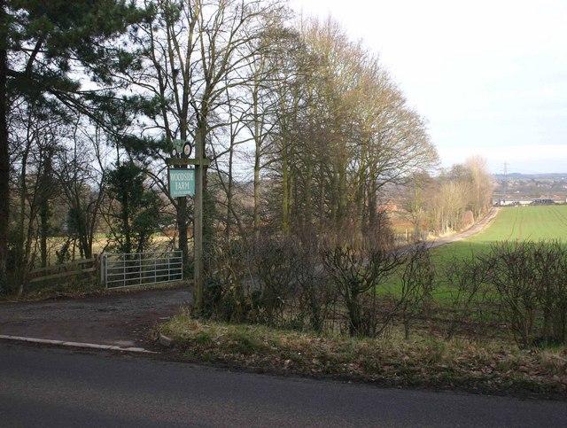 Entrance to Woodside Farm