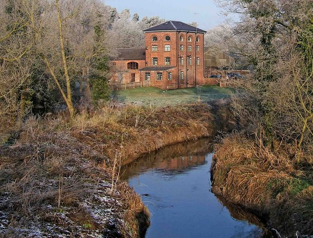Greensforge Mill and Smestow Brook